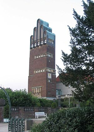 Darmstadt Artists' Colony - Wedding tower in Mathildenhöhe in Darmstadt