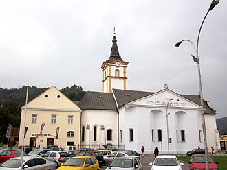 Požega, Croatia - Church of the Holy Spirit