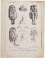 Homo sapiens - Anencefalie - 1700-1880 - Print - Iconographia Zoologica - Special Collections University of Amsterdam - UBA01 IZ19600208.tif