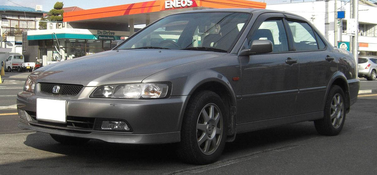 Honda accord sixth generation wikidata for Honda accord generations