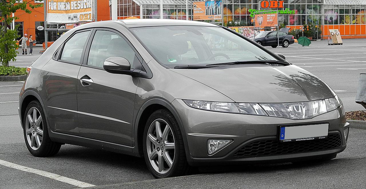 File:Honda Civic (VIII) – Frontansicht, 13. Juni 2011 ...
