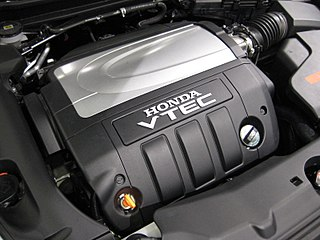 Honda J engine Motor vehicle engine