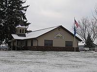 Honey Creek town hall (Sauk County).JPG