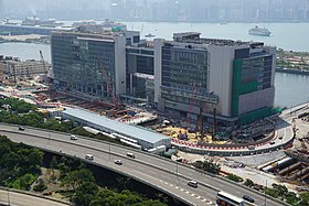 Hong Kong Children's Hospital under final works in October 2017.jpg