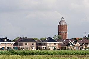 Hoogkarspel - The skyline of Hoogkarspel, with the characteristic Hoogkarspel Water Tower.