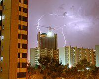 Tormenta eléctrica en Hospitalet de Llobregat
