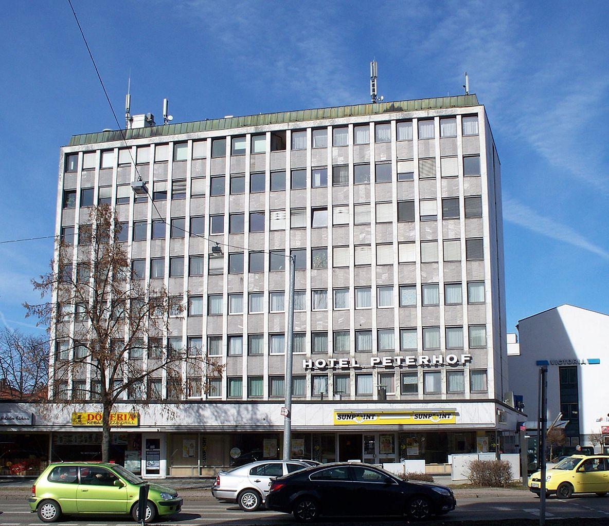 Hotel Peterhof Kempten Parken