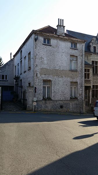 Hotel de Boisschot, heritage building in Zaventem, Flemish Brabant, Belgium.