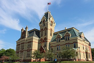 Houghton County, Michigan - Image: Houghton County Courthouse 2