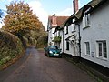 Houses near the Five Bells public house, Clyst Hydon - geograph.org.uk - 1589149.jpg