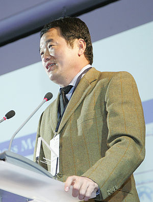 Huang Nubo - Huang Nubo at the Horasis Global China Business Meeting in 2012