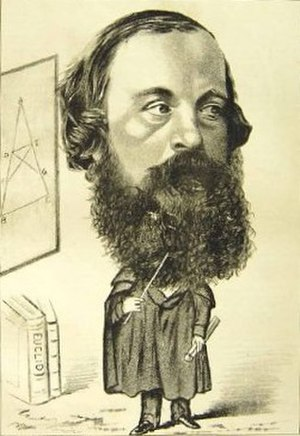 Hugh Blackburn - An 1877 caricature of Hugh Blackburn