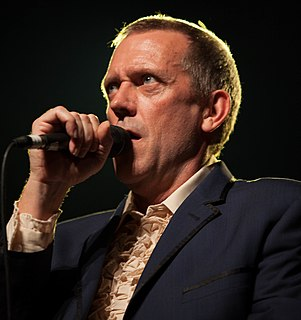 Hugh Laurie English actor, comedian, director, musician and writer