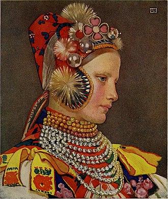 Marianne Stokes - Image: Hungary (1909) (14783572992)