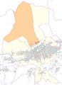 Hungerburg -- Statistischer Stadtteil in Innsbruck -- Lagekarte.png