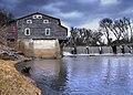 Huntingville old grain Mill and dam - panoramio.jpg