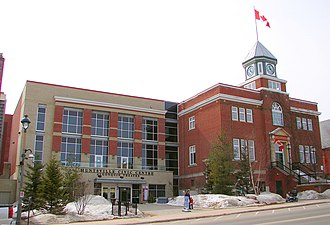 Huntsville, Ontario - Huntsville Town Hall and Civic Centre