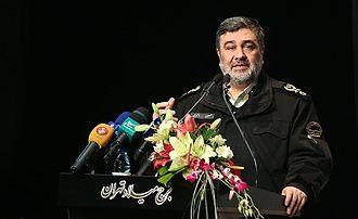 Law Enforcement Force of the Islamic Republic of Iran - Brigadier General Hossein Ashtari, the current commander of NAJA