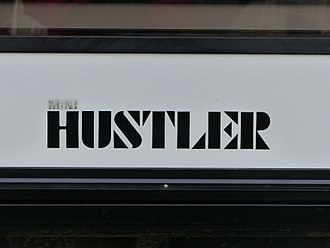 Hustler (car) - Hustler logotype.