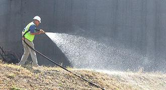 Erosion control - Hydroseeding in the United Kingdom