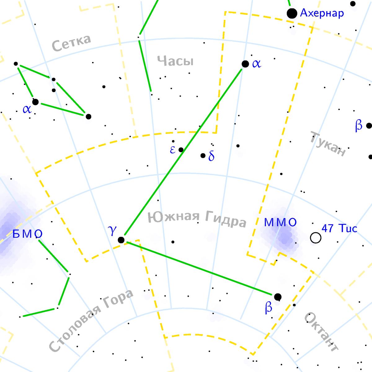 созвездие гидры википедия