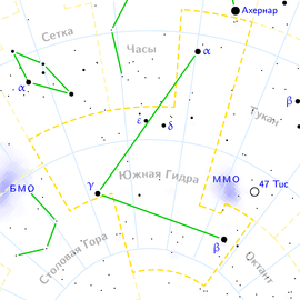 Hydrus constellation map ru lite.png