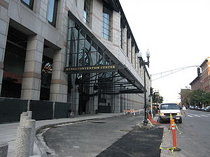 Hynes Convention Center - Image: Hynes Center 2 Boylston St Bostn 2009
