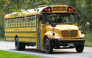 School bus type of bus