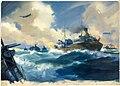 INF3-29 Convoy scene Artist Frank Wootton 1939-1946.jpg
