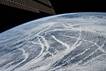 ISS-59 Cloud patterns south of the Aleutian Islands.jpg