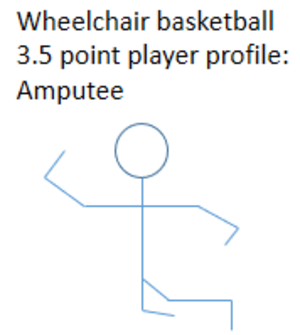 3 point player - ISOD A3 classified player profile as a 3.5 point player