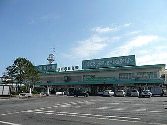 Ichinoseki Station - Ichinoseki Station in October 2010