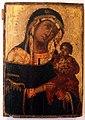 Icona della madonna col bambino, xvi-xvii secolo.JPG