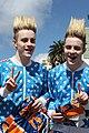 Identical Twins Jedward 2012 LA Marathon Los Angeles (6849052778).jpg