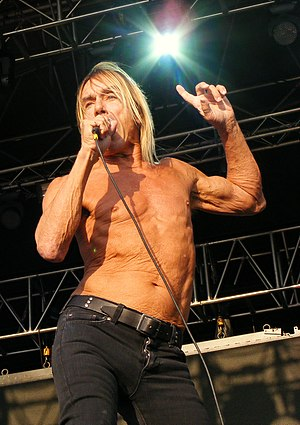Iggy Pop - Iggy and the Stooges performing at Chester Rocks in July 2011