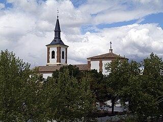 Aravaca neighborhood in Madrid