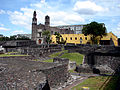 Iglesia y cuerpo del Edificio del Convento de Santoiago Tlatelolco.jpg