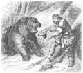 Illustrirte Zeitung (1843) 15 238 2 Der Graf und der Bär.PNG