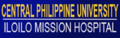 Iloilo Mission Hospital - Central Philippine University Banner.png