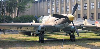 Ilyushin Il-2 - Il-2 in Museum of the Polish Army in Warsaw.