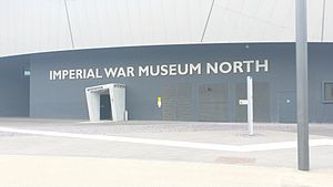 Imperial War Museum North - The entrance