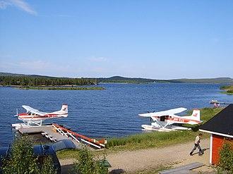 Lake Inari - Image: Inari lake
