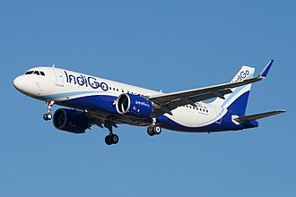 Airbus A320neo family - An Airbus A320neo of IndiGo, the largest operator