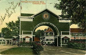 Indianola Park - Image: Indianola park entrance