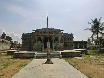 Inside view of Lakshmi narasimhaswami temple, Javagal.jpg