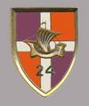 Insigne régimentaire du 24e régiment d'infanterie.png
