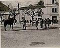 Inspizierung des 4.Tiroler Kaiserjägerregimentes durch Exzellenz Feldmarschall Conrad Freiherr von Hötzendorf am Piazza d'Armi in Trient (BildID 15736083).jpg
