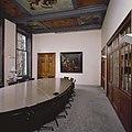 Interieur, bel-etage, achterzijde links (Grote zaal), interieur, Zaal met vijfdelige zeventiende-eeuwse plafondschildering - Amsterdam - 20394159 - RCE.jpg