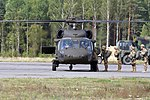 Into The Blue, Dog Company, Hussar Battalion jump together 150912-A-FJ979-003.jpg