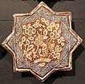 Iran, mattonelle stellate con animali, 1250-1300 ca. cane.JPG
